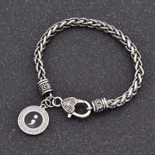 Armreif Damen Silber Semikolons Selbstmord Bewusstsein Armband Schmuck Geschenk