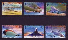 Alderney 2003  Centenary of Powered Flight  SG A204/9  MNH