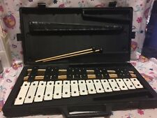 KAMAN CB700 CB 700 Educational Percussion XYLOPHONE w/ Case Mallets WATCH VIDEO