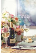 "Veuve Clicquot ""Bubbles In Bloom"" Poster 24 By 36"