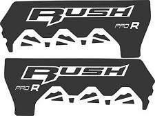 POLARIS RUSH PRO INDY RMK  600 800 PRO R 120 136 SHORT TUNNEL DECAL STICKER rush