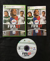 FIFA Soccer 07 — Complete With Manual! Fast Shipping! (Microsoft Xbox 360, 2006)