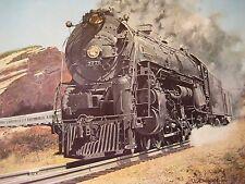1938 Santa Fe Chief Train 3775 Litho Print  J.B. Deneen 20x15 Echelon Publishing