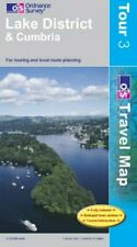 Lake District and Cumbria (OS Travel Ser... by Ordnance Survey Sheet map, folded