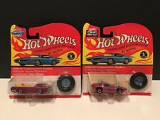 Hot Wheels Vintage Collection Silhouette & Deora Cars 1992 & 1993 Sealed New