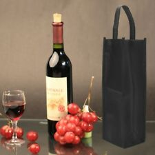 Washable Non-woven Fabric Red Wine Bottle Bags Gift Weddings Holiday Party