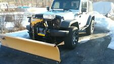 Jeep wrangler snow plow frame and wiring Fisher.mm2 3 plug