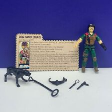 Gi Joe Cobra action figure military Hasbro complete 84 Junkyard Dog Handler Mutt