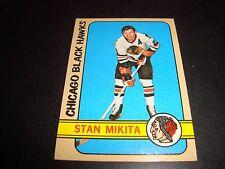 Stan Mikita 1972-73 Topps Hockey Card #56 EX Condition Chicago Black Hawks