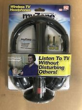 myZone Wireless TV Headphones  AS Seen On TV w/Free Shipping
