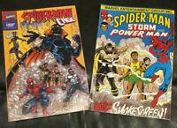 (Set of 2) Marvel/American Cancer Society Spiderman Battles Smokescreen Comics