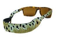 CROAKIES Eyeglass Retainer Rainbow Trout Boating Fishing Outdoors NWT