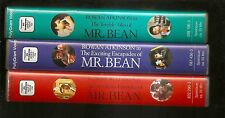 RARE Set of 3 Videos VHS PAL GERMAN Version MR BEAN aka Rowan Atkinson