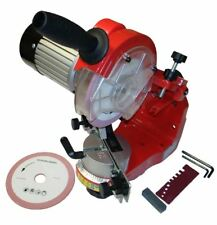 Chainsaw Chain Sharpener Grinder Heavy Duty Bench Mounted  Professional User
