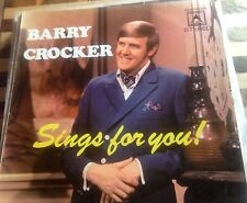BARRY CROCKER  * SINGS FOR YOU *VINYL RECORD *