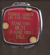 Mirror on the Wall Compact Hand Pocket Mirror Brand New [15340] OoP Spoontiques