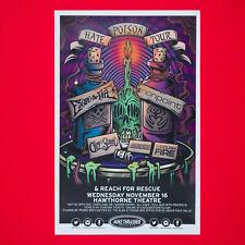 Escape The Fate & Nonpoint 2016 Original 11x17 Concert Street Poster. Portland