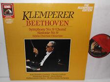 EL 29 0272 1 Beethoven Symphony No.9 & Fidelio Overture Philharmonia Klemperer
