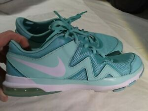 Nike Air Sculpt Sneakers Shoes TR2 - 704922-400 - Aqua Blue - Women's Size 6 EUC