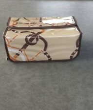 TOSS Designs NWT equine themed make-up /toiletry travel case