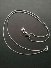 "Masquerade Ball, Party Mask Pendant on a 30"" .925 Sterling Silver Snake Chain"