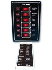Schaltpaneel Schalttafel Bedienpaneel Paneel mit 6 beleuchteten Schaltern 1178