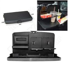 Ultra-Thin 29MM Car Seat Back Shelf Sundries Tray Plate Storage Tray Cup Holder