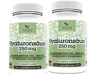 Hyaluronsäure,120 Kapseln 250mg Haut&Gelenke &Augen&Knorpeln& Anti-Aging