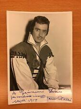 Fotografia autografa di Franco Corelli