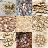 New 100PCS Rustic Wooden Wood Love Heart Wedding Table Scatter Decor Crafts