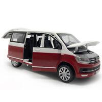 T6 Multivan MPV 1/32 Die Cast Modellauto Spielzeug Model Sammlung Ton & Licht