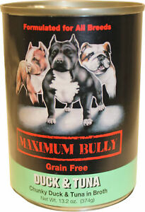 Maximum Bully Canned Dog Food