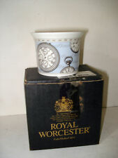 """ROYAL WORCESTER """"TIME"""" SMALL POT 2.5"""""""