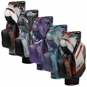 2021 Sun Mountain H2NO Staff Waterproof Golf Cart Bag 14-Way Full Dividers
