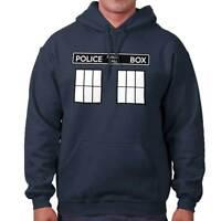Police Box Time Travel British Sci-Fi TV Show Hoodies Sweat Shirts Sweatshirts