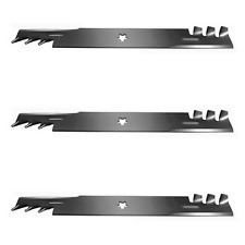 3 Pack Copperhead Mulcher Blades Fits Husqvarna 521981601 539113312 (14392)