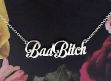 Stainless Steel Bad Bitch Necklace Jewelry Best Friend Gift Bestie Gift