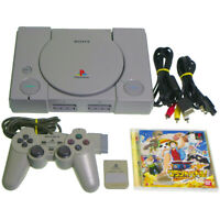 Sony PS1 Console SCPH-7000 +Game Japan Import PSX PS1 Playstation Working NTSC-J