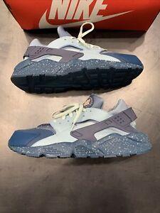 Nike Air Huarache Run PRM Blue Force Size 14 704830-402