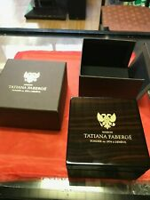 Tatiana Faberge maison Jewelry Box for Pendant Necklace mint