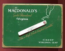 VINTAGE -MACDONALD'S CIGARETTES / TOBACCO - MONTREAL CANADA - Flat 50 TIN/CAN