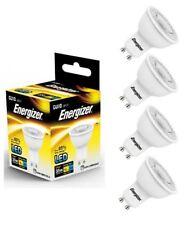 4x Energizer GU10 LED Light Bulb 255lm Spot 3.6W=35W Cool White 4000k 36°