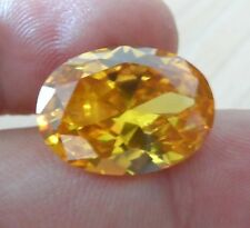 AAAAA Natural Yellow Sapphire Oval Faceted Cut VVS Loose Gemstone U Pick Size