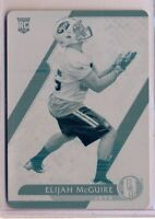 ELIJAH McGUIRE - 2017 Plates & Patches Cyan Printing Plate 1/1 - Jets SP