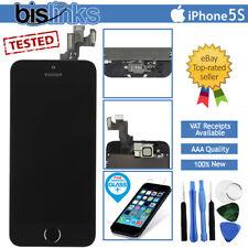 Noir iPhone 5 S écran De Remplacement Numériseur LCD Tactile Bouton Home Caméra Outils