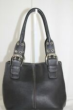 Tignanello Soft Luxurious Pebbled Leather FRENCH 10 TOTE *MINT CONDITION*
