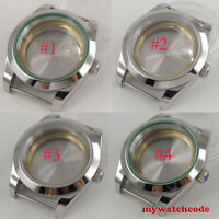 40mm sterile sapphire glass automatic men Watch Case fit 2824 2836 8215 Movement