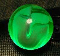 EPIC VITRO Conqueror GREEN DEVIL ADVENTURINE PURPLE Vintage Marbles EXCELLENT V
