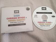 Cher, Chrissie Hynde & Neneh Cherry With Eric Clapton Love Can Build A Bridge CD
