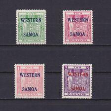 SAMOA 1955, SG# 232-235, CV £90, overprint, MNH